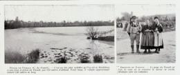 1909 - Iconographie Documentaire - Le Faouët (Morbihan) - Vues -  FRANCO DE PORT - Old Paper