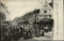 21 - SEMUR - Marché - Semur