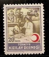 TURQUIE  BIENFAISANCE    N°  106 OBLITERE - 1921-... Republik