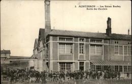 21 - TOUTRY - Usine De MONTZERON - Sortie Ouvriers - France