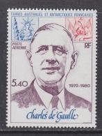 TAAF 1980 Charles De Gaulle 1v  ** Mnh (32317A) Promotion - Luchtpost