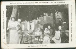 Publicité : Association Nationale Des Orphelins De La Guerre. La Maternelle à Etretat. ... - Etretat