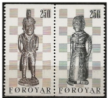 Faroer/Faroe/Féroé: Gli Scacchi, Re, Regina, échecs, Roi, Reine, Chess, King, Queen - Scacchi