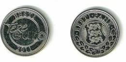 ESTONIA ANNO 2011 - TERE EURO ZETOON 2011 EESTI PANK - MEDAGLIA PRESENTE IN OGNI STARTER KIT - Gettoni E Medaglie
