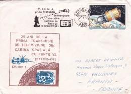 Roumanie - Lettre - Marcofilia