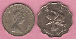 HONG KONG 1 Dollar De 1979* 2 Dollars 1994   2 Scannes - Hong Kong