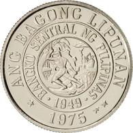 Philippines, 10 Sentimos, 1975, FDC, Copper-nickel, KM:207 - Philippines