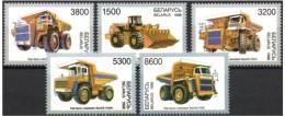 Belarus 1998   Trucks /  Car / Autmobile /   Stamp  Set    MNH  (lot  - 411) - Camion