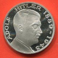 A.Hitler,,,,,,,,,,, ,,,,, ,,,,,Medaille 3 - Entriegelungschips Und Medaillen