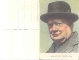 WINSTON CHURCHILL  EDITOR CASA ITURRAT MONTEVIDEO URUGUAY JUNTA DE LA VICTORIA AYUDA DE LAS MUJERES ARGENTINAS A LOS PAI - Historical Famous People