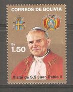 Sello  Nº 711  Bolivia - Bolivia