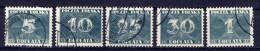 Polen Porto Ex.Nr.92/9                  O  Used               (903) - Portomarken