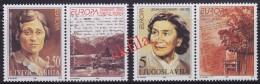 5071. Yugoslavia 1996 Europa CEPT - Famous Women, Stamp-vignette, MNH (**) Michel 2777-2778 - 1992-2003 Federal Republic Of Yugoslavia
