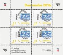 HR 2016-1241 25A°STAMPS OF CROATIA, MS, MNH - Croatia