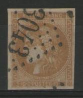 N°43B Oblitéré (nuance !)    - Cote 100€ -