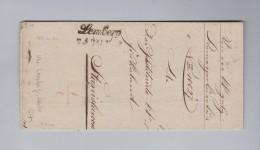 Ukraine LEMBERG Schriftsstempel 1842-05-07 Vorphila Brief - Ukraine