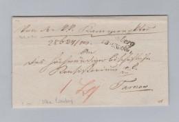 Ukraine LEMBERG ~1841 Lwiw Brief Ohne Inhalt Nach Tarnow - Ukraine