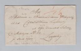 Ukraine LEMBERG 1837-06-30 Lwiw Ankunftsstempel 2 Zeilig Vorphila Brief - Ukraine