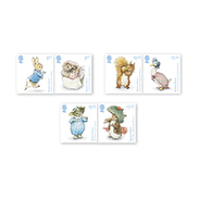 Groot-Brittannië / Great Britain - Postfris / MNH - Complete Set Beatrix Potter 2016 NEW!! - Ongebruikt