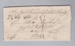Ukraine BRODY Galizien 1847-10-20 Franco Rot Vorphila Brief Nach Wien - Ukraine