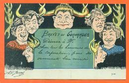 """Illustrateur AP JARRY """" Brevet De Conardes - Cocues """" FJC2 - Illustrators & Photographers"""