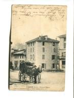 CP - L Albenc  (38)  Place De L Eglise - L'Albenc