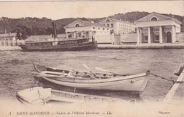 CPA (83) SAINT MANDRIER Entrée De L' Hôpital Maritime Hôpital Militaire ? Cachet Peu Visible Au Dos (2 Scans) - Saint-Mandrier-sur-Mer