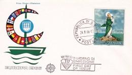 Saint Marin - Enveloppe 1er Jour - FDC