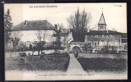 ESSEY (54) 1919 VUE CHATEAU ET EGLISE  PHOTOS R/V - France