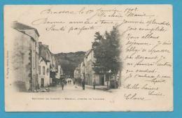 CPA Avenue De Lacaune BRASSAC Environs De CASTRES  81 - Brassac