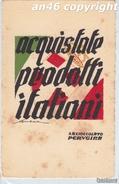 """PUBBLICITA'_ADVERTISING_WERBUNG_""""ACQUISTATE PRODOTTI ITALIANI""""_S.A.CIOCCOLATO PERUGINA_ILL.SENECA-OTTIMA CONSERVAZIONE - Publicité"""