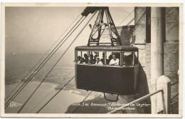 ANNECY : TELEPHERIQUE DU VEYRIER , GARE D ARRIVEE - Annecy-le-Vieux