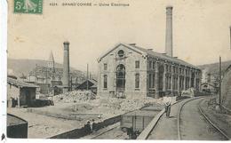 Gard : La Grand-Combe, Usine Electrique - La Grand-Combe