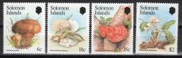 CHAMPIGNONS/MUSHROOMS/SETAS - SALOMON - 1984 - N°504/7 ** - Pilze