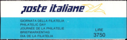 """ITALIA REPUBBLICA - 1992. LIBRETTO """"GIORNATA DELLA FILATELIA"""" (L14) NUOVO* * - 6. 1946-.. Republic"""