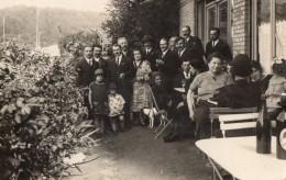 CHAVILLE      Terrasse De Cafe   -  Carte Photo 1927 - Chaville
