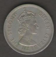 HONG KONG DOLLAR 1960 ELIZABETH II - Hong Kong