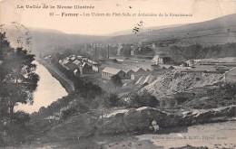 ¤¤  -    10   -   FUMAY   -  Les Usines Du Pied-Selle Et Ardoisière De La Renaissance  -   ¤¤ - Fumay
