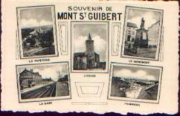 « Souvenir De MONT-SAINT-GUIBERT » - Ed. Paquier, Namur - Mont-Saint-Guibert