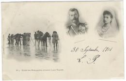 SOCIETE DES PHOTOGRAPHES ATTENDANT LEURS MAJESTES Nicolas II Empereur Russe De Russie Alexandra Feodorovna - Other Photographers