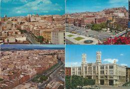 CAGLIARI 4 CARTOLINE ZONA VIA ROMA LARGO CARLO FELICE 1970 - Cagliari