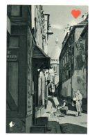 03224-LE-75-PARIS-Vieux Montmartre---------animée-peintre - Other