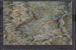 S50 /    Vogelschau Schlachtfeld Um Verdun Wöwre Priesterwald - France
