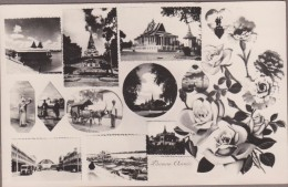 "PHOM-PENH-Carte Multivues... Verso ""MILITAIRES D'INDOCHINE""... - Cambodja"