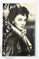 1950's Vintage Real Photo Postcard Cinema Film Actress: Athryn Grayson - Actores