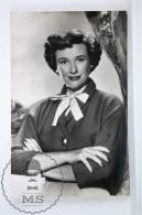 1950's Vintage Real Photo Postcard Cinema Film Actress: Phyllis Thaxter - Actores