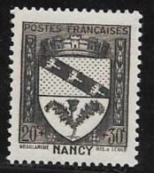 N° 526  FRANCE  -  NEUF  -  ARMOIRIE NANCY  AU PROFIT DU SECOURS NATIONAL  -  1941 - France