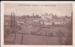CARTE POSTALE    GRAND BRASAC 24    Vue Générale Du Bourg - France