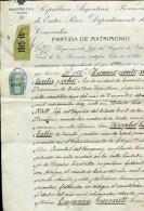 PARTIDA DE  MATRIMONIO REGISTRO CIVIL ENTRE RIOS AÑO 1915  ZTU. - Historical Documents