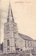 B 8920 LANGEMARK - POELKAPELLE, De Kerk, 1914, Deutsche Feldpost - Langemark-Poelkapelle